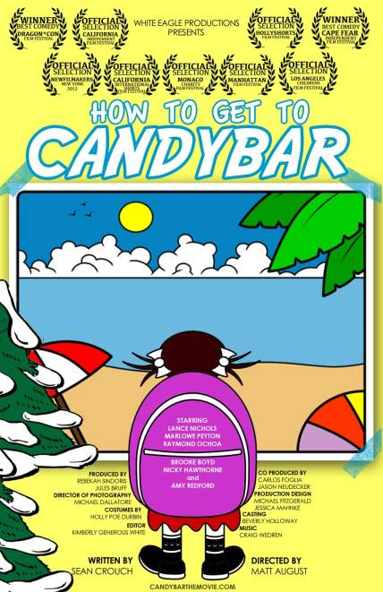 8.  HOW TO GET TO CANDYBAR Poster